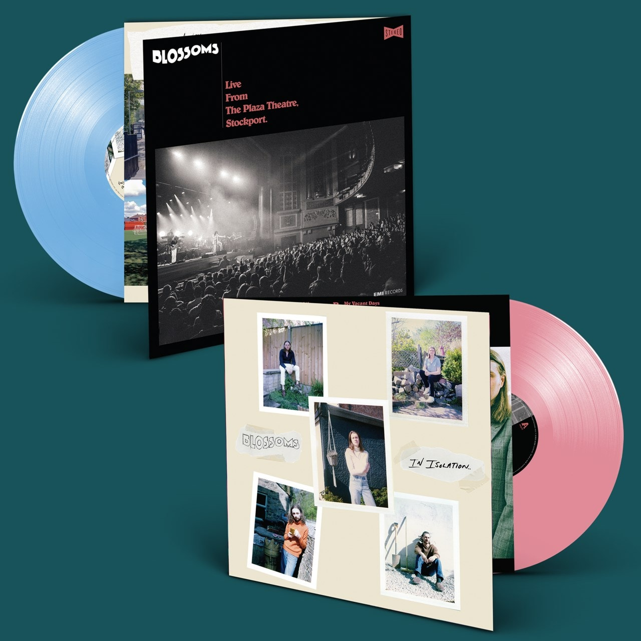Blossoms – Live From The Plaza Theatre Stockport In Isolation 2LP Blue/Pink Colour Vinyl Album