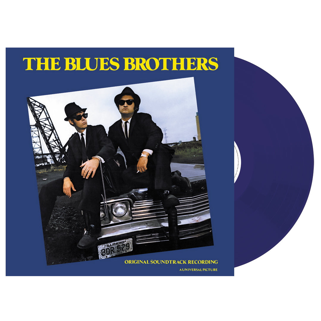 The Blues Brothers	- Original Motion Picture Soundtrack (National Album Day) 180g Transparent Blue Colour Vinyl Record Album