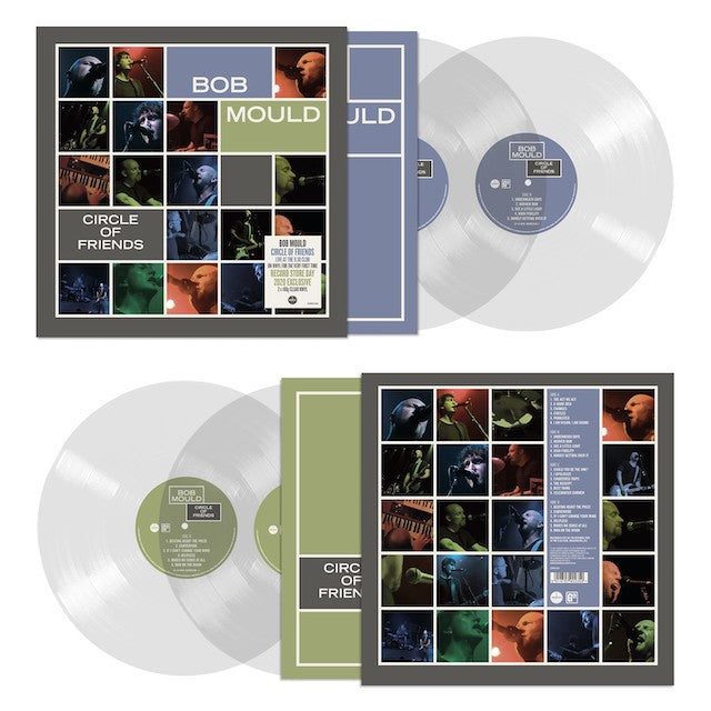Bob Mould - Circle Of Friends (RSD 2020 Drop Three) 180g Clear Colour Vinyl Record Album
