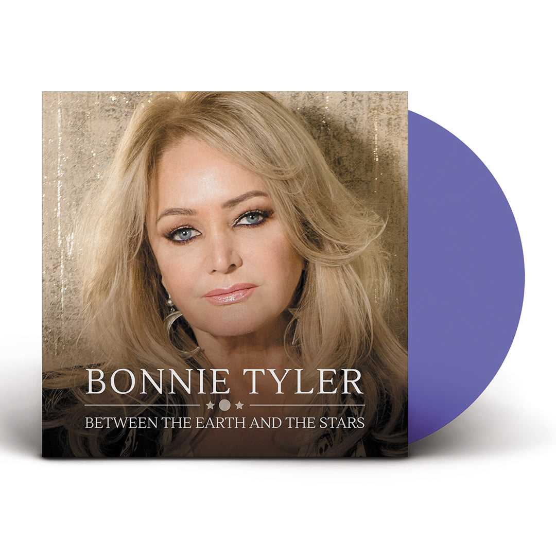 Bonnie Tyler - Between The Earth And The Stars (National Album Day) Blue Colour Vinyl Record Album