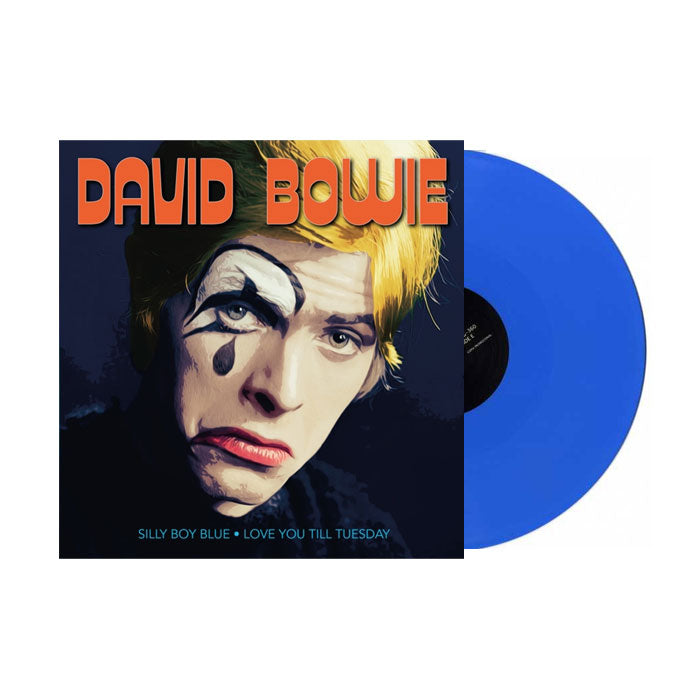 "David Bowie - Silly Boy Blue / Love You Til Tuesday Blue Colour 7"" Vinyl Record"