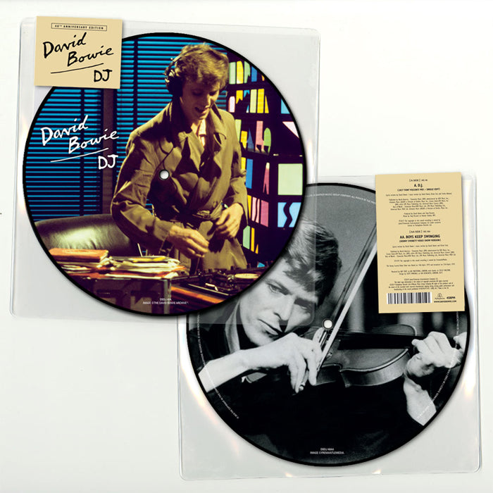 "David Bowie - D.J. 40th Anniversary 7"" Picture Disc Vinyl Record"