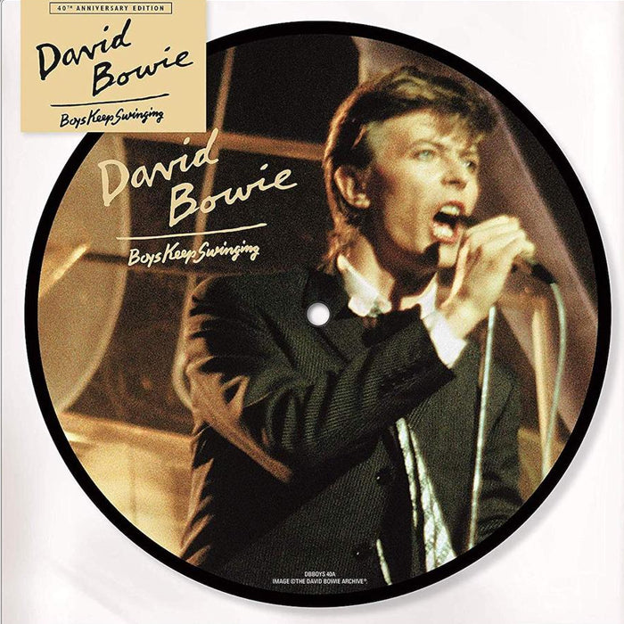 "David Bowie ‎– Boys Keep Swinging Limited 40th Anniversary 7"" Picture Disc Vinyl Record"