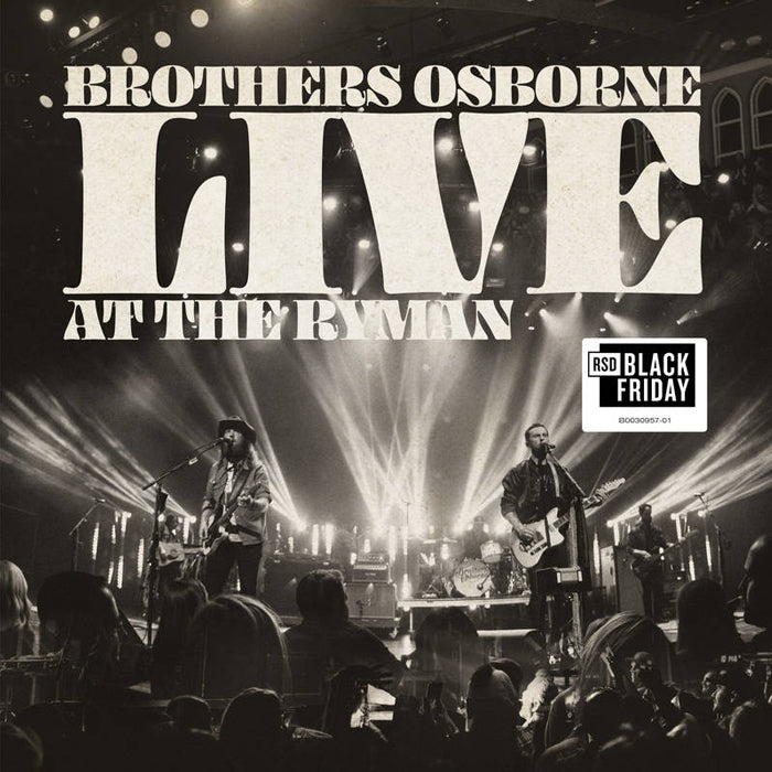 Brothers Osborne - Live At The Ryman (RSD Black Friday) Vinyl Record Album