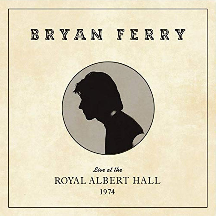 Bryan Ferry - Live at the Royal Albert Hall 1974 Vinyl Record Album