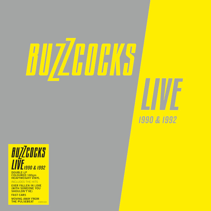 Buzzcocks - Live 1990-1992 2LP Silver Colour Vinyl Record, Vinyl, X-Records
