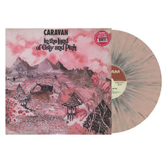 Caravan ‎– In The Land Of Grey And Pink Splatter Colour Vinyl Record