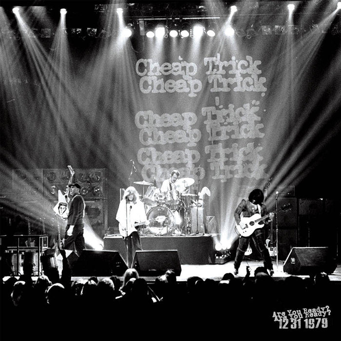 Cheap Trick - Are You Ready Or Not? Live 31/12/79 (RSD Black Friday) 2LP Vinyl Record Album