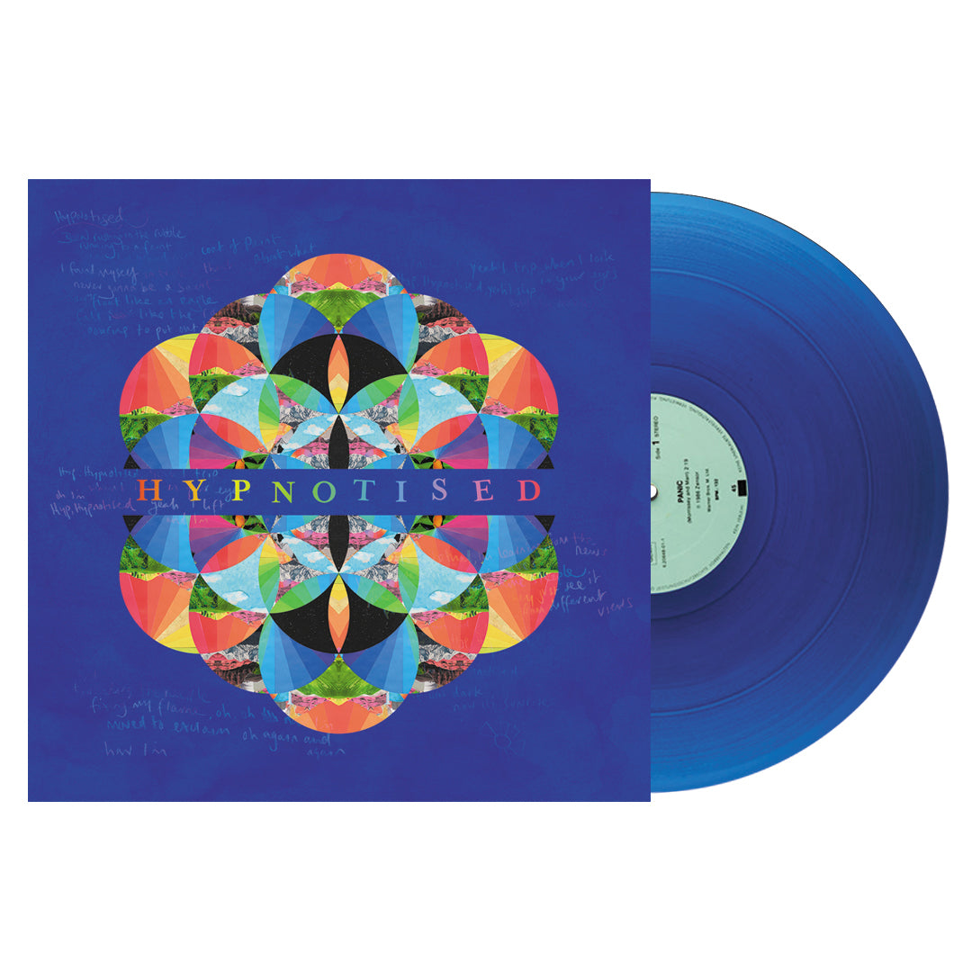 Coldplay ‎– Kaleidoscope EP Limited Edition Blue Colour Vinyl Record