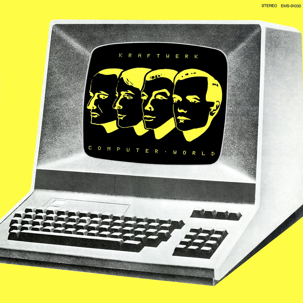 Kraftwerk - Computer World Limited Edition Translucent Neon Yellow Colour Vinyl Record Album