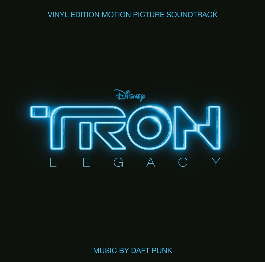 Daft Punk -Tron Legacy Motion Picture Soundtrack (RSD 2020 Drop Two) 2LP Translucent Blue Coloured Vinyl Record Album