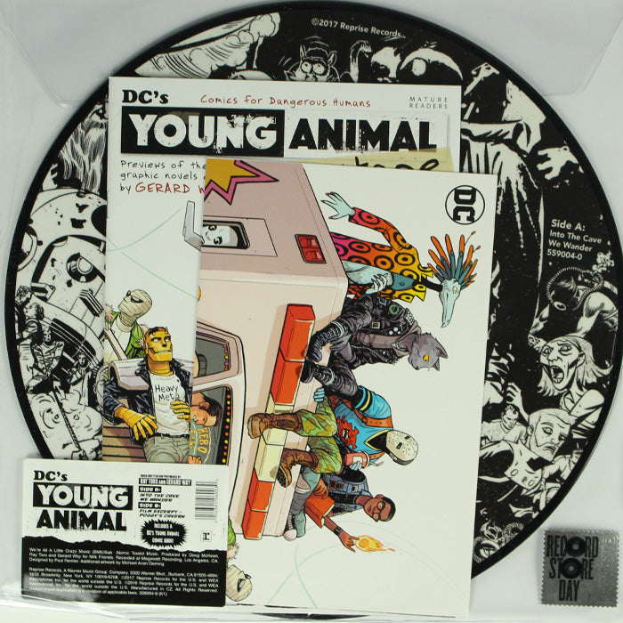 Ray Toro And Gerard Way ‎– DC's Young Animal RSD Picture Disc Vinyl Record, Vinyl, X-Records