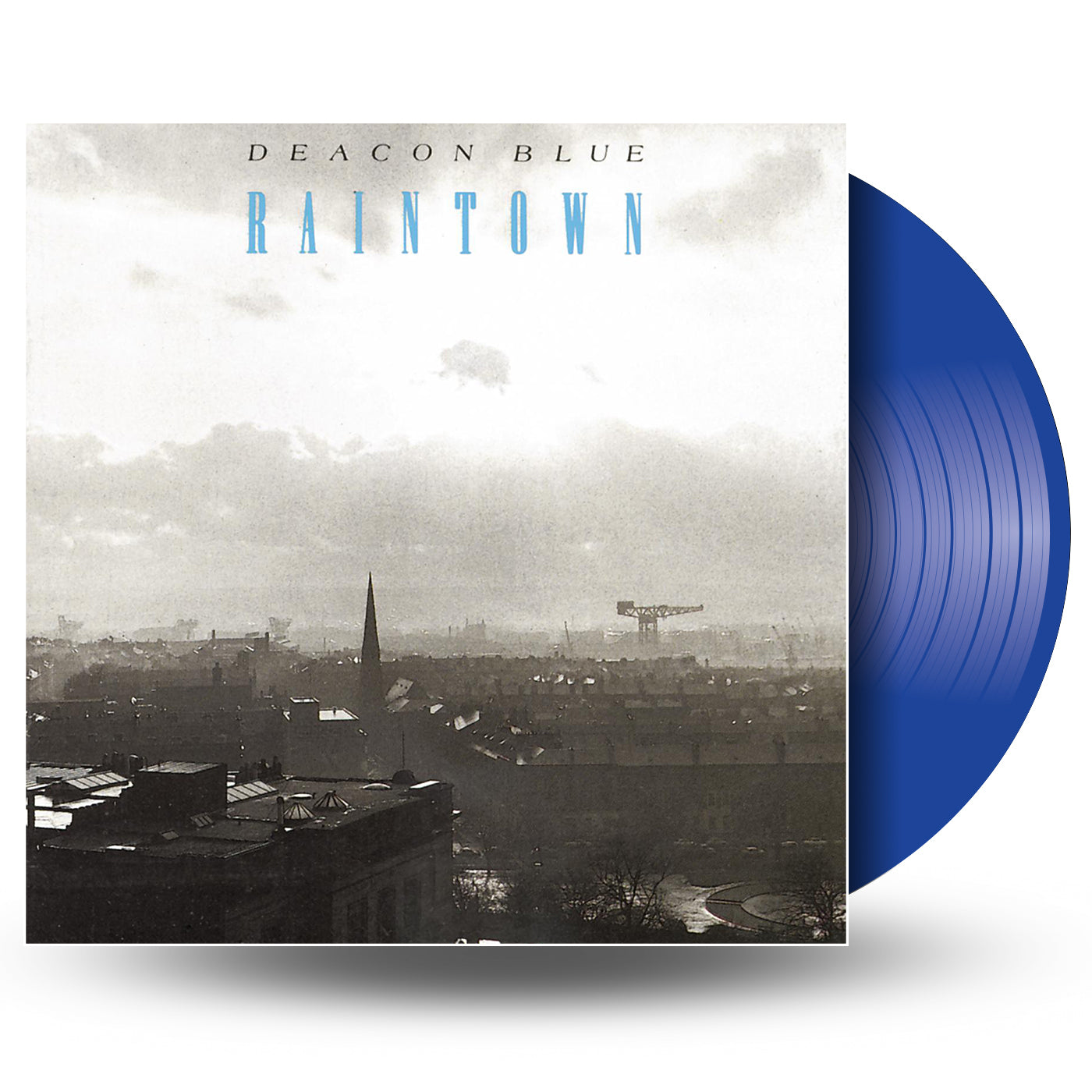 Deacon Blue - Raintown (National Album Day) Blue Colour Vinyl Record Album