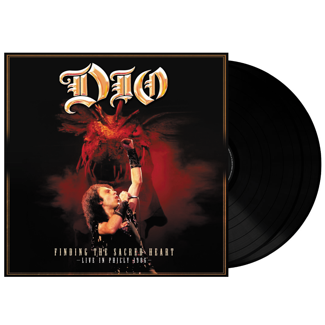 Dio - Finding The Sacred Heart: Live In Philly 1986 2LP 180g Vinyl Record Album