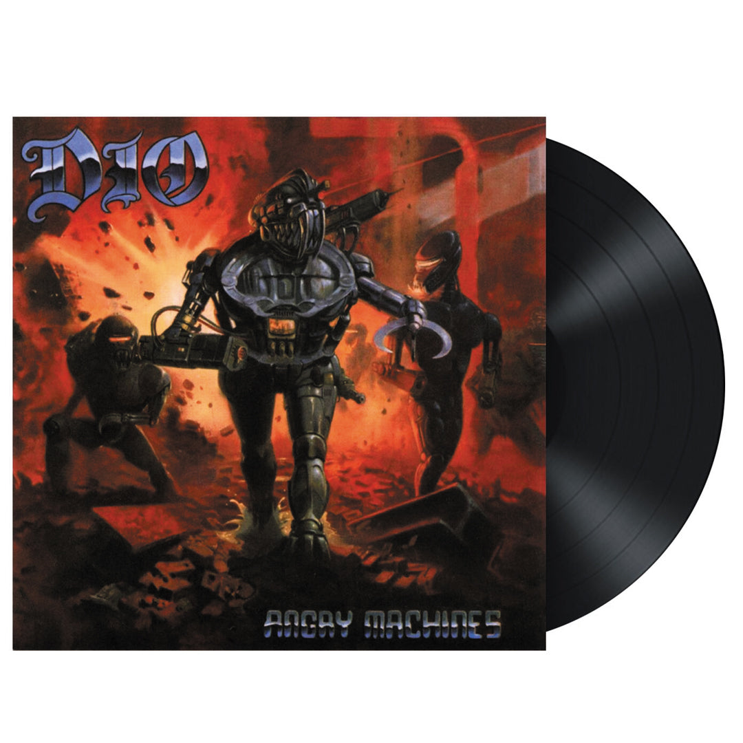 Dio - Angry Machines Limited Edition 180g Vinyl Record Album + Lenticular 3D Print