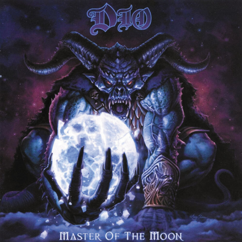 Dio - Master of the Moon Limited Edition 180g Vinyl Record Album + Lenticular 3D Print