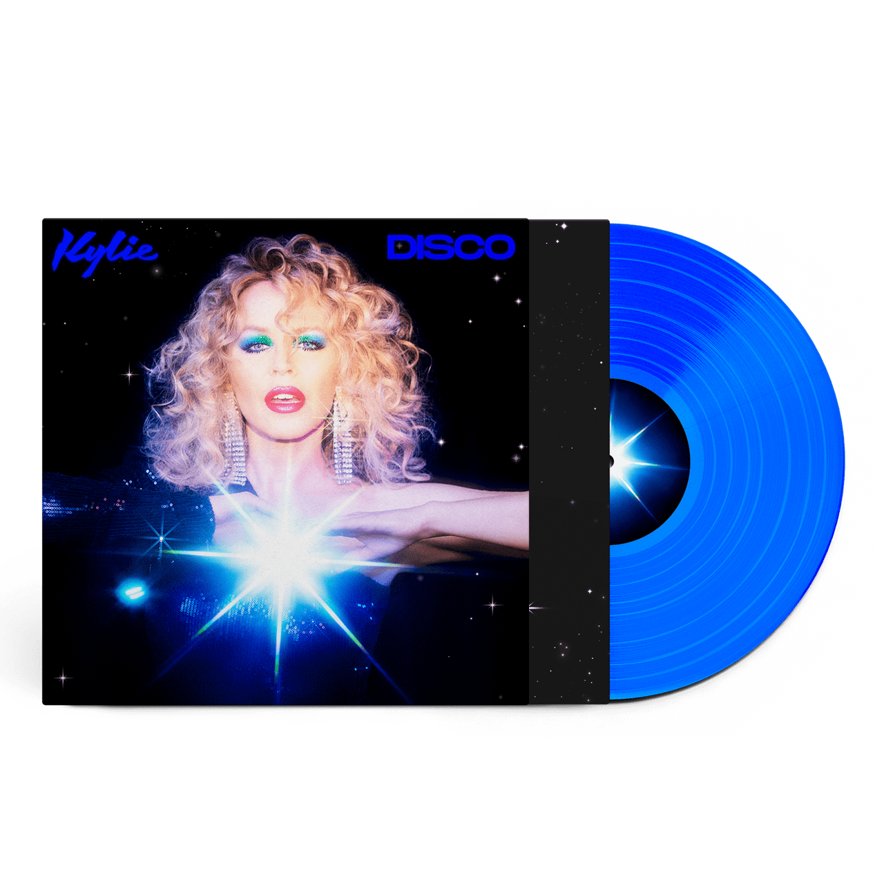 Kylie -  Disco Limited Edition Transparent Blue Colour Vinyl Record Album