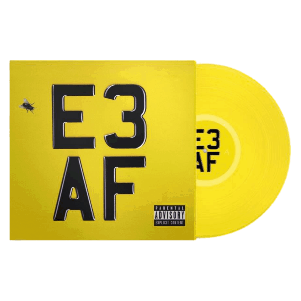 Dizzee Rascal -E3 AF Limited Edition Yellow Colour Vinyl Record Album