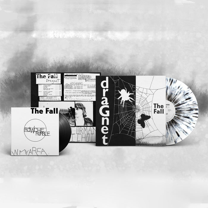 The Fall - Dragnet Limited Edition Black & White Splatter Vinyl Album + 7″