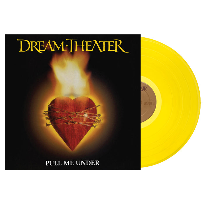 Dream Theater - Pull Me Under (Rocktober) Translucent Yellow Colour Vinyl Record, Vinyl, X-Records