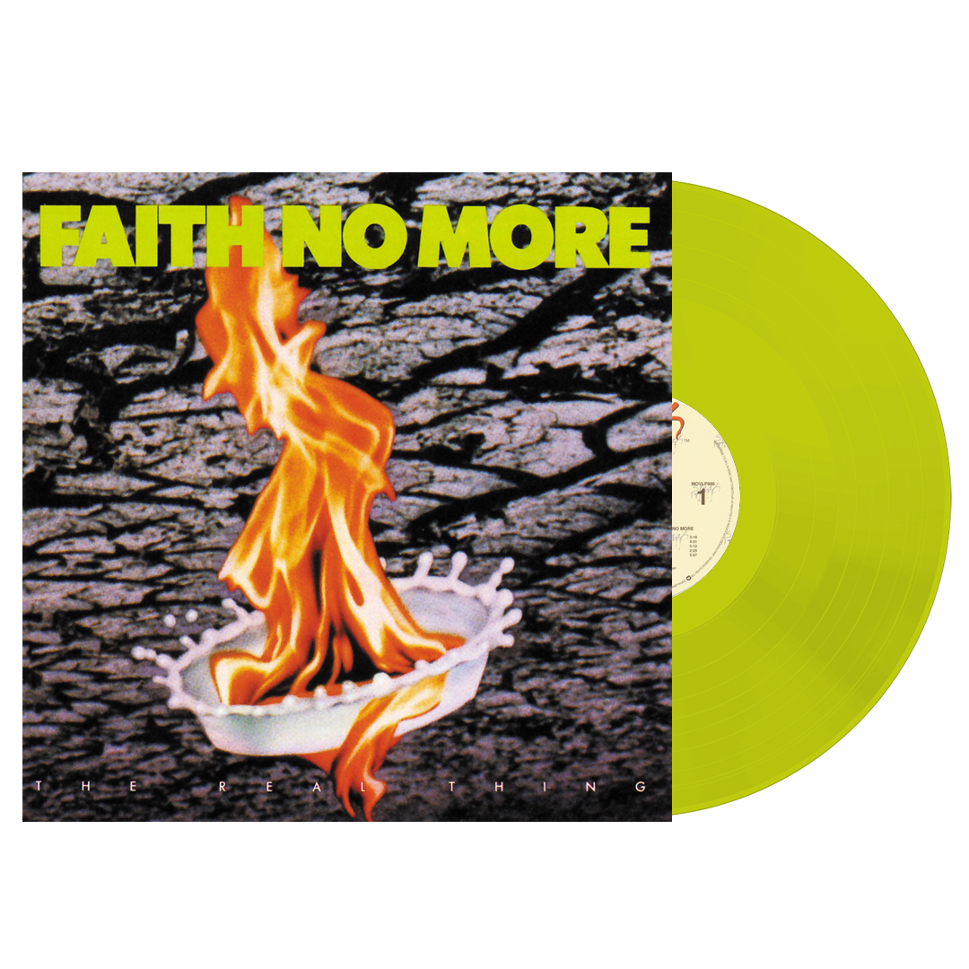 Faith No More - The Real Thing (Rocktober) 140g Yellow Colour Vinyl Record Album