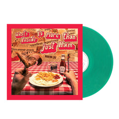 Feet	- What's Inside is More Than Just Ham Translucent Green Colour Vinyl Record Album, Vinyl, X-Records