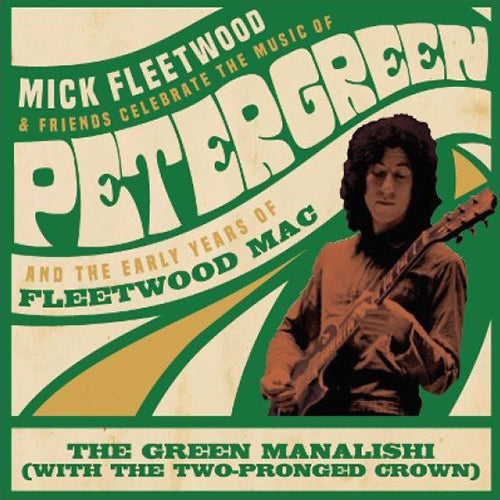 "Mick Fleetwood and Friends & Fleetwood Mac - The Green Manalishi (RSD 2020 Black Friday) Colour 12"" Vinyl Record"