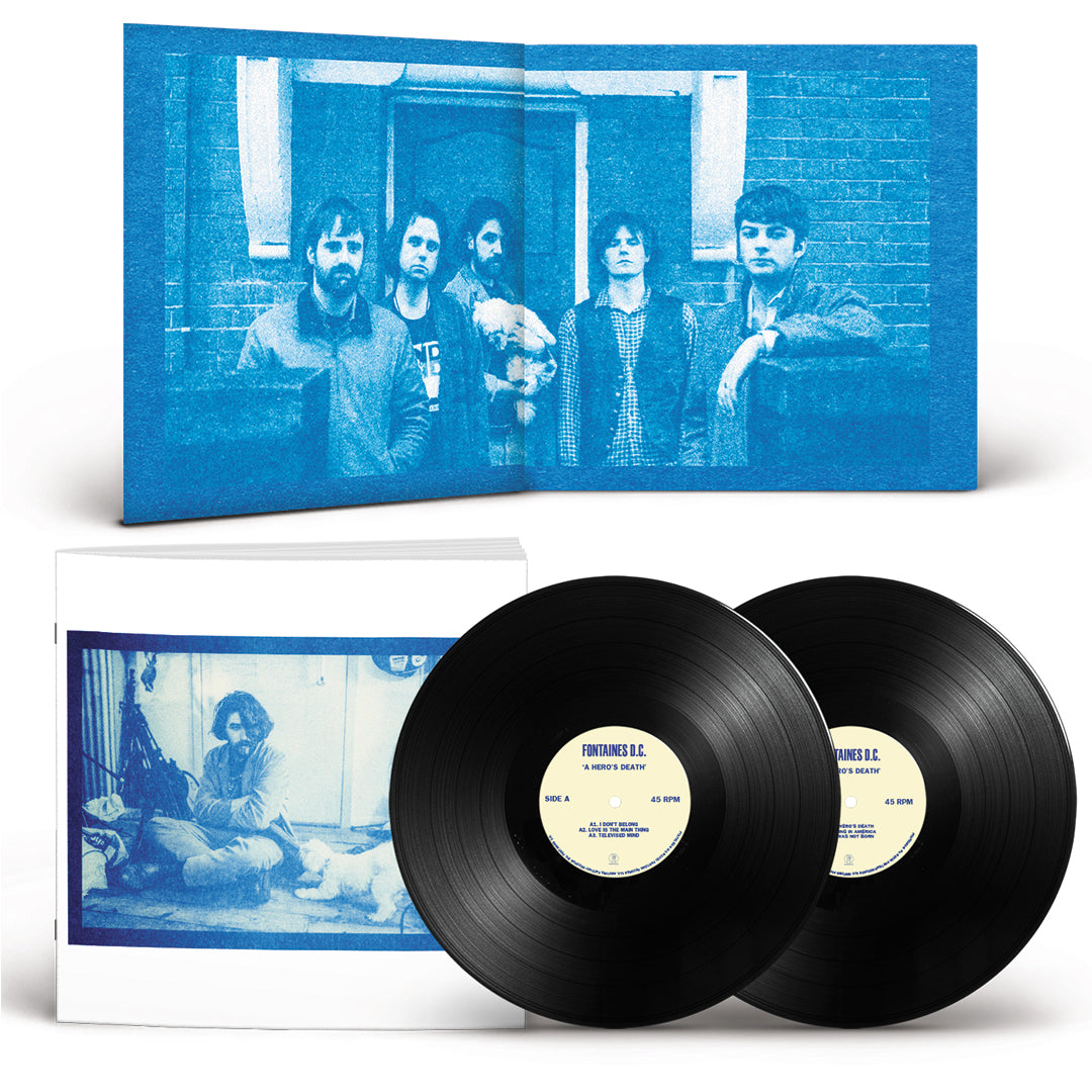 Fontaines D.C. - A Hero's Death Deluxe Edition 2LP Gatefold Vinyl Record Album