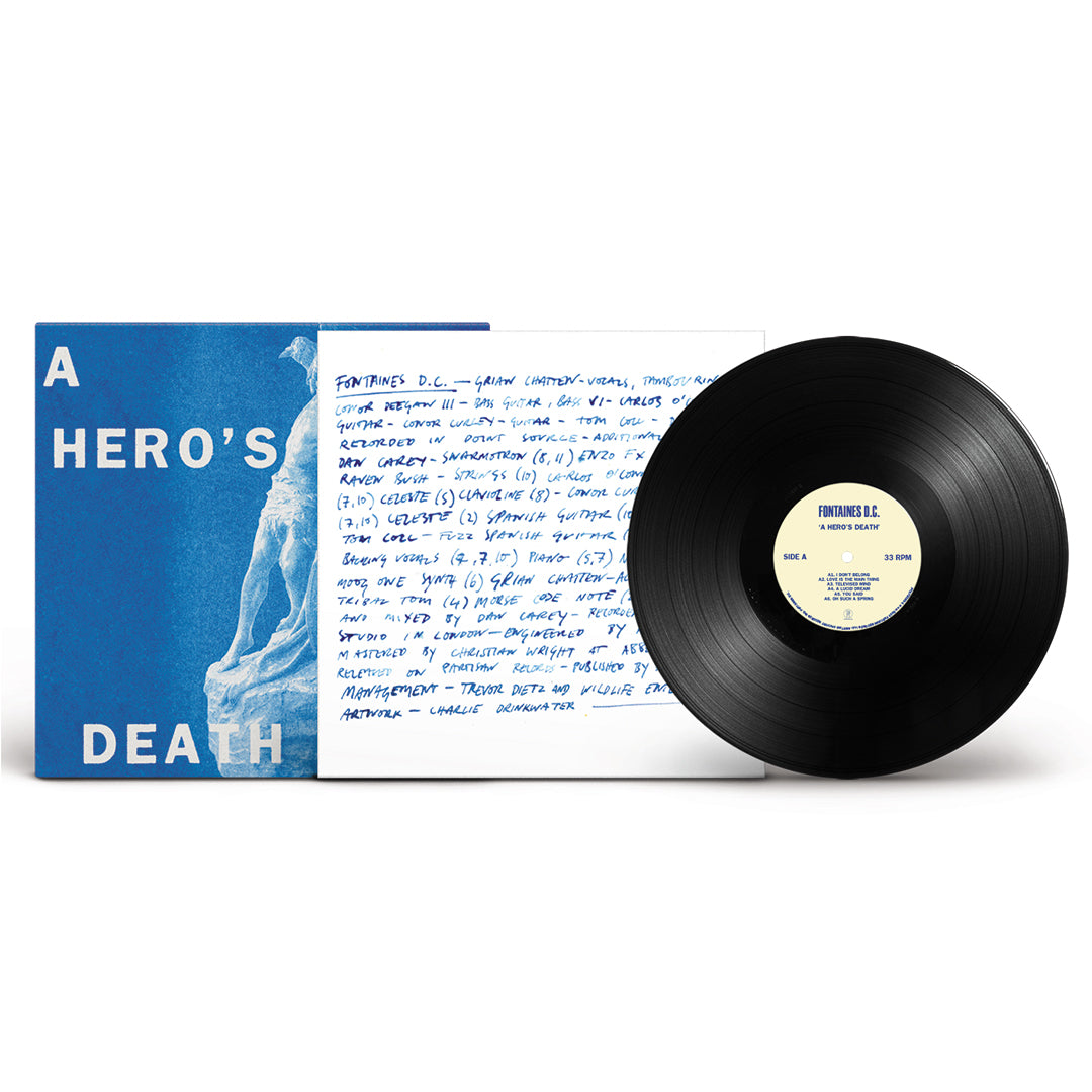 Fontaines D.C. - A Hero's Death Vinyl Record Album