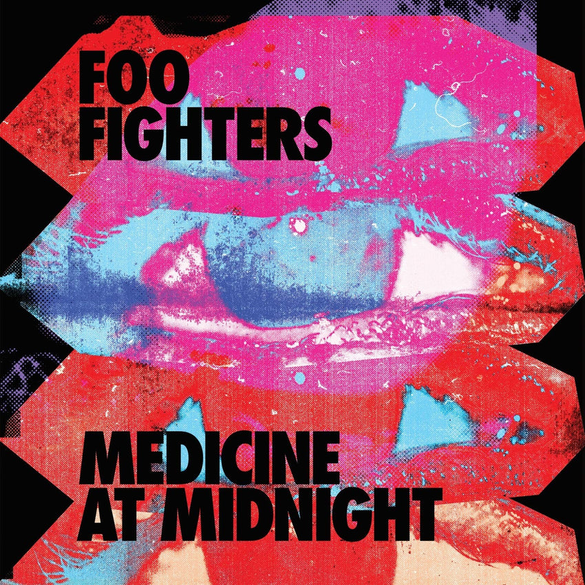 Foo Fighters -  Medicine at Midnight Exclusive Blue Colour Vinyl Record Album