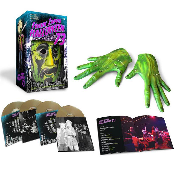 Frank Zappa - Halloween 73 Limited Edition 4CD Boxset + Mask & Gloves, CD, X-Records