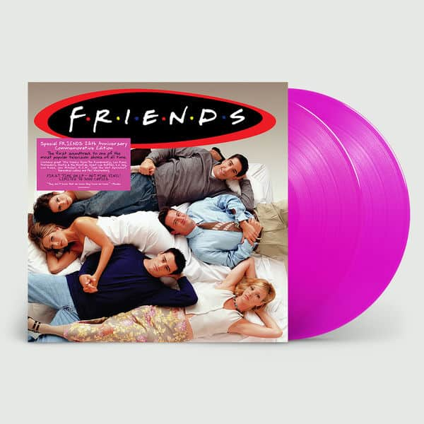 Friends Soundtrack	- Friends Original Soundtrack (National Album Day) 2LP 180g Hot Pink Colour Vinyl Record Album