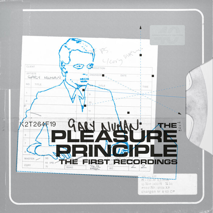 Gary Numan - The Pleasure Principle The First Recordings 2LP Orange Colour Vinyl Record Album, Vinyl, X-Records