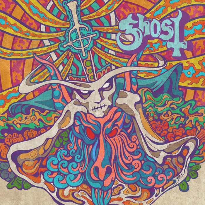 "Ghost - Kiss The Go-Goat / Mary On A Cross Limited Edition 7"" Vinyl Record, Vinyl, X-Records"