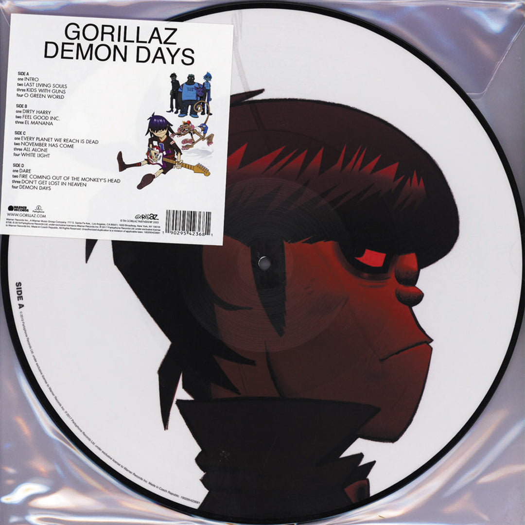 Gorillaz - Demon Days Limited Edition 2LP Picture Disc Vinyl Record Album