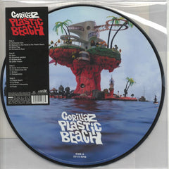 Gorillaz - Plastic Beach Limited Edition 2LP Picture Disc Vinyl Record Album