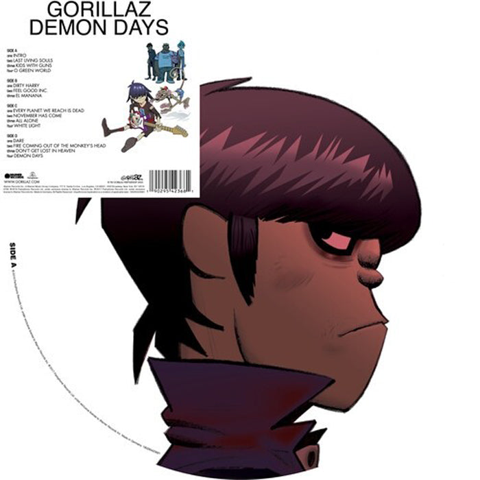 Gorillaz - Demon Days Limited Edition 2LP Picture Disc Vinyl Record Album, Vinyl, X-Records
