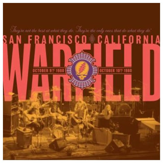 Grateful Dead ‎– The Warfield, San Francisco, CA RSD 2019 Limited Colour Vinyl Record