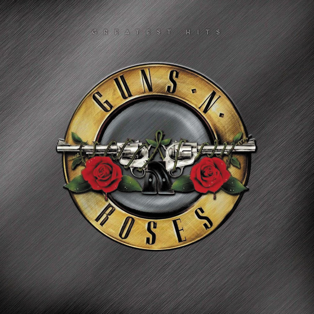 Guns N' Roses - Greatest Hits 2LP Standard Black Vinyl Record Album