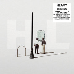 Heavy Lungs - Measure EP Limited Edition Orange Colour Vinyl Record, Vinyl, X-Records