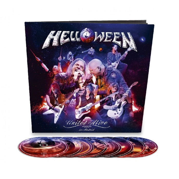 Helloween - United Alive SetAlive (2BluRay+3DVD+3CD-Earbook) Album, CD, X-Records