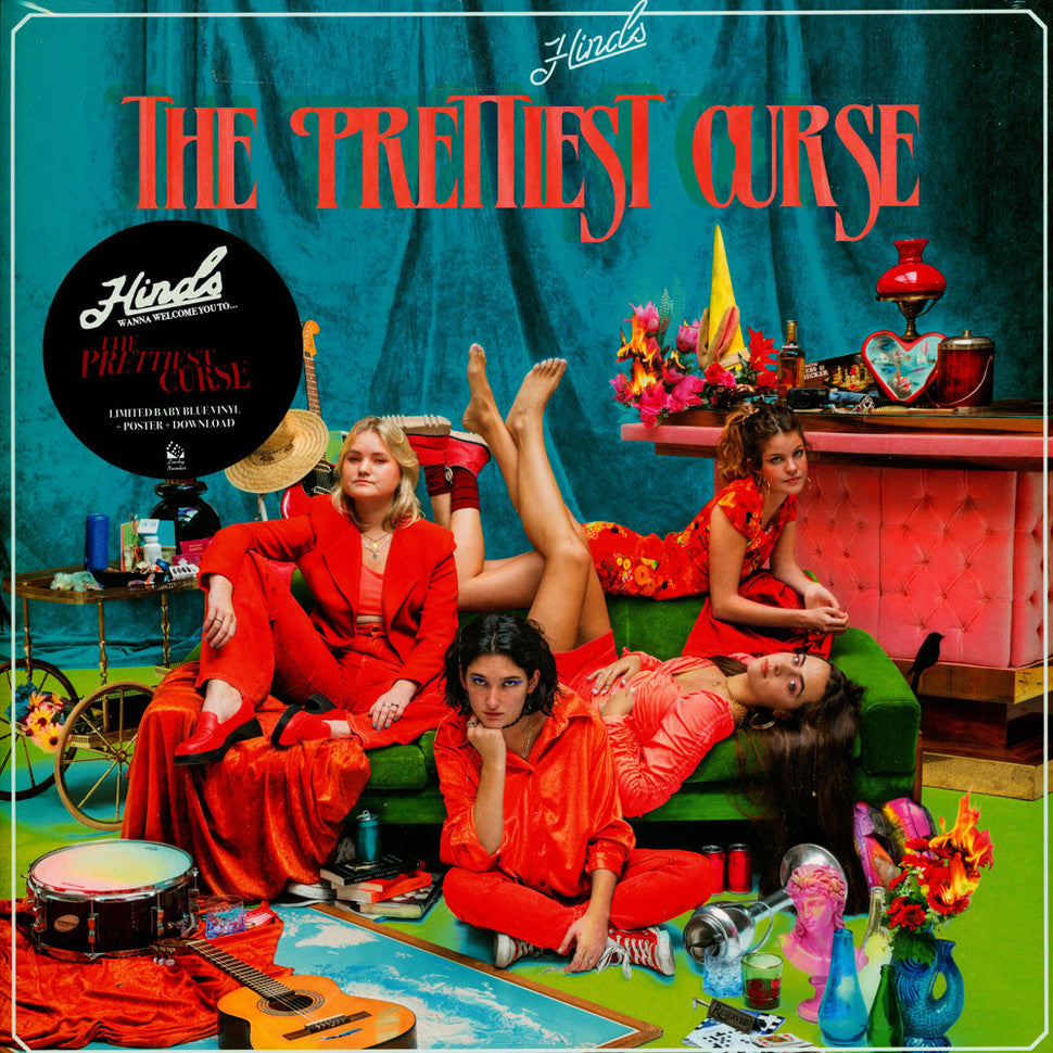 Hinds - The Prettiest Curse Limited Edition Baby Blue Vinyl Record Album