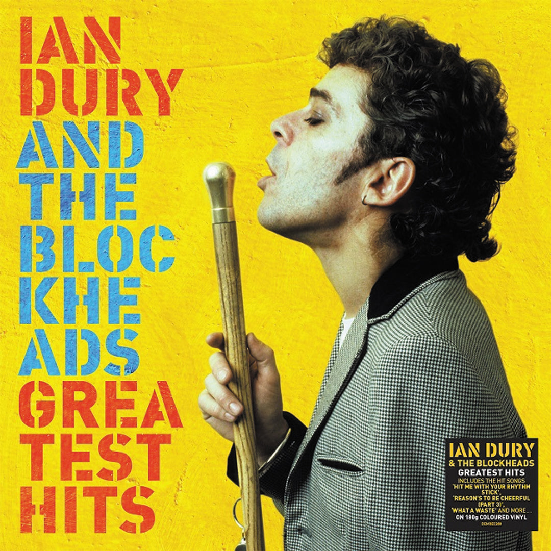 Ian Dury & The Blockheads - Greatest Hits 180g Colour Vinyl Record Album