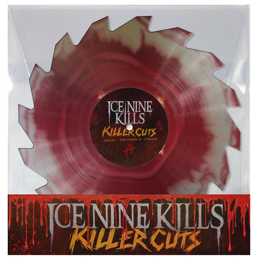 "Ice Nine Kills - Savages (RSD 2020 Drop Three) Buzzsaw 10"" Colour Vinyl Record"