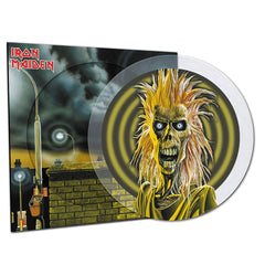 Iron Maiden - Iron Maiden (National Album Day) 40th Anniversary Edition Crystal Clear Picture Disc Vinyl Record Album