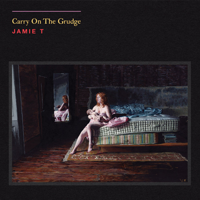 Jamie T ‎– Carry On The Grudge Vinyl Record Album, Vinyl, X-Records