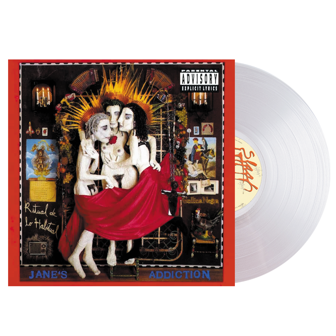 Jane's Addiction - Ritual De Lo Habitual (Rocktober) 2LP 140g Milky Clear White Colour Vinyl Record Album