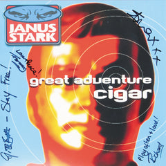 Janus Stark - Great Adventure Cigar Blue Colour Signed Vinyl Record Album
