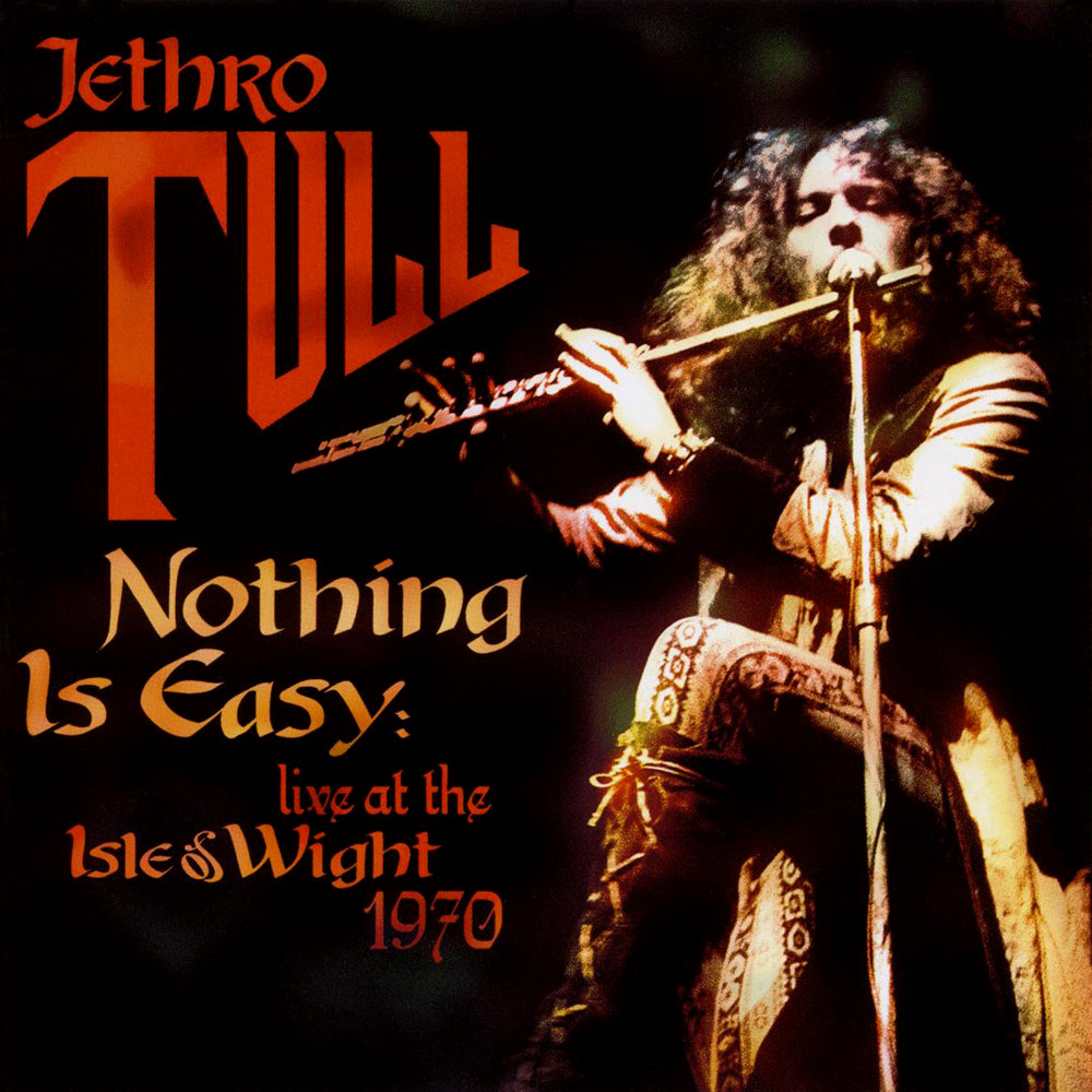 Jethro Tull - Nothing Is Easy Live 1970 (RSD 2020 Drop Two) 2LP Orange Colour Vinyl Record Album