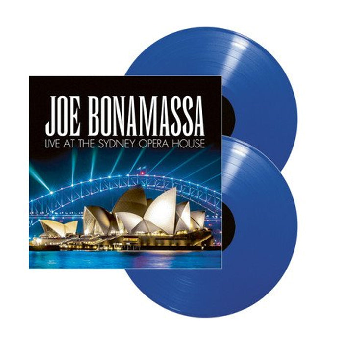 Joe Bonamassa - Live At The Sydney Opera House Limited Edition 2LP Blue Colour Vinyl Record Album, Vinyl, X-Records